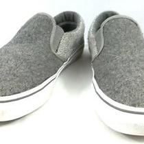 Skechers Bobs Shoes Solid Gray Fabric Slip on Walking Sneakers Womens Size 9.5 W Photo