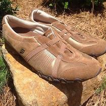 Skechers Bronze Slip on Casual Athletic Walking Shoes Womens 9.5 Medium Photo