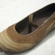 Skechers Brown Leather Loafer Flats Mary Janes Tennis Athletic Shoes Size 6.5 B Photo