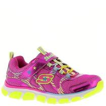 Skechers Chrome It Up Bungee (Girls' Toddler-Youth) Size 10.5m Photo