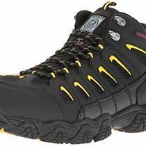 Skechers for Work Men's Blais-Bixford-M Hiking Bootblack/yellow8 M Us Photo