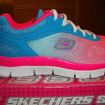 Skechers Girl's Skech Appeal - Brite Life Sneaker 81892  Size 1 Photo