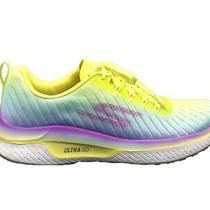 Skechers Go Run Steady Endure Sneakers Yellow Baby Blue Violet 16029-Ylmt Photo