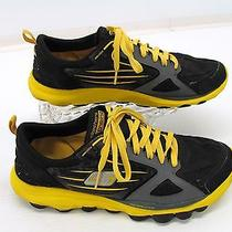 Skechers Go Train Womens Black Yellow Lace Up Running Shoe Sneakers 9.5m A5 Photo