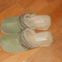 Skechers Green Clogs Size 8 Navy Green Photo