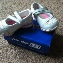 Skechers Infant Girl Shoe Size 3  Nib Photo