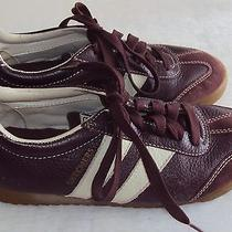 Skechers Ladies Brown Leather Athletic Shoe Size 7 1/2 M  Photo