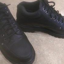 Skechers Men Black Dress Up Formal Leather Upper Balance Shoes-Sz 12 Worn Once  Photo