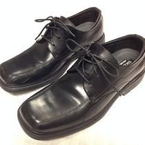 Skechers Mens Black Leather Dress Shoes. Square Toe. Size 10.5 Worn Once Photo