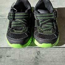 Skechers Mischiefs Toddler Boys Sneakers Size 5 Black/lime Nwt Final Listing Photo