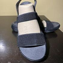 Skechers on the Go 600  Black Sandals Women Size 9 Photo