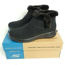 Skechers on the Go Joy Bundle Up Boots Women's Size 8 Black Gen 5 Ortholite  Photo