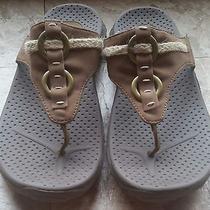 Skechers Outdoor Lifestyle Brown Sandals Flip-Flops - Womens - Size 8 Photo