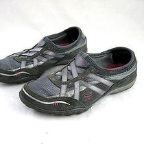 Skechers Relaxed Fit Memory Foam Womens Walking Tennis Shoes Sneakers 7.5m Grey Photo