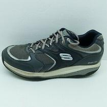Skechers Shape Ups Mens Grey Athletic Walking Shoes Size 10.5 (52004) Photo