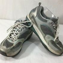 Skechers Shape-Ups Silver Blue 12320 Walking Toning Sneakers Womens Size 8 Photo