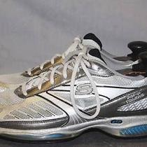 Skechers Shape Ups Toners Womens Sz 8.5 Silver Athletic Walking Running Shoes Rl Photo