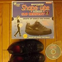 Skechers Shape Ups Women Exercise Walking Shoe Size 6 With Original Box Dvd  Photo