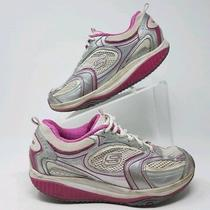 Skechers Shape Ups Women Toning Athletic Shoes 12320 White/pink Walking Size 8 Photo