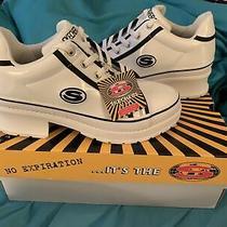 Skechers Size 7 Heartbeat Loud White/black New Women's Sneaker Shoes Photo