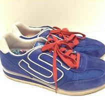 Skechers Sn 134 Memory Foam Womens Atheltic Sneakers Size 8.5 Eur 38.6 Blue  Photo