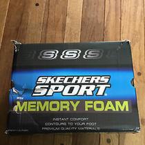 Skechers Sport Men's Afterburn Memory Foam Lace Up Sneaker Sz 10 New in Box Photo