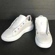 Skechers Street Los Angeles Grey Gold Leather Women's Sneakers Size 9 Photo