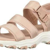 Skechers Women's d'lites-Cargo Buckle Sport Sandal Blush Size 5.0 Cxxu Photo