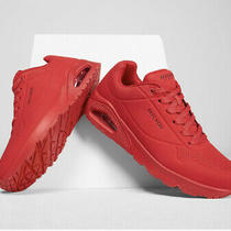 Skechers Women's Uno Stand on Air Fashion Sneaker Red 5 New With Box Photo