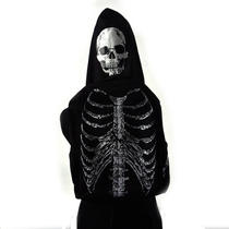 Skeleton Backpack With Detachable Skull Hood Photo