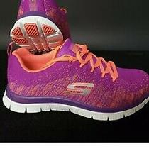 Sketcher Sneakers for Women or Girls Sketch-Knit by Skechers Size 5.5 Brand New Photo