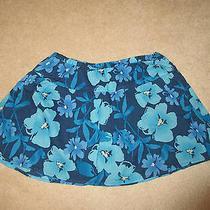 Skirt - Aeropostale - Blue Floral - Mini - Sz Medium Photo