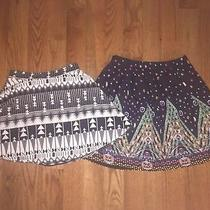 Skirt Lot Goodnight 4 Small Charlotte Russe M Medium Geometric Skater a-Line Photo