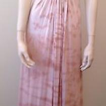 Sky Blush Ombre Tie Dyed Empire Strapless Braided Maxi Dress  Size M Photo