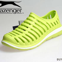 Slazenger Womens Aqua Beach Sports Shoes Sandals Size 6 Us / 4 Uk Eva 200 Green Photo