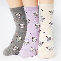 Sleep Lamb 3pairs(3color)1pack  Socks Made in Korea Women Woman Girl Big Kids  Photo