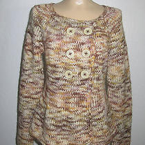 Sleeping on Snow Beautiful Knit Sweater Anthropologie M Photo