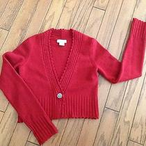 Sleeping on Snow Shrug Sweater Anthropologie Size Small Photo