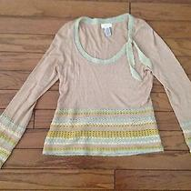 Sleeping on Snow Sweater Anthropologie Size Medium Photo