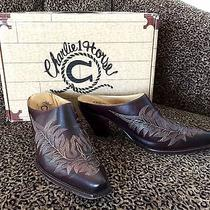 Slightly Used Charlie 1 Horse Walnut Mayela Mules Sz 7 Made by Lucchese for C1h Photo