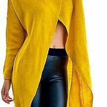 Slim Bloom Womens Turtleneck Yellow Size Large L Pullover Sweater 45- 725 Photo