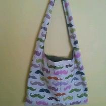 Sling Bag/hobo Bag With Mustaches Photo