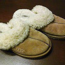 Slippers Women's  Classic Ugg Brown Size 4 Photo