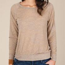 Slouchy Burnout Pullover Photo