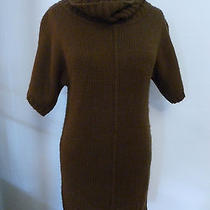 Sm Forever 21 Sweater Dressbrowncowl Nice Condition Photo