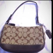 Small Brown Coach Purse Photo