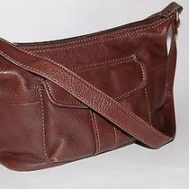 Small Brown Leather Fossil the New American Classic 75082 Shoulder Handbag Purse Photo