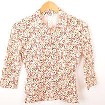 Small Cacharel Cotton Floral Blouse Photo