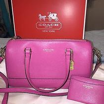 Small Coach Crossbody and Card Wallet Photo