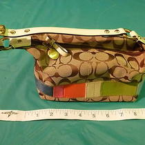 Small Coach Handbag Barely Used Practically New Photo